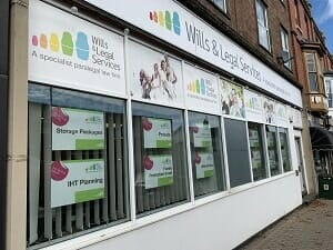 Wills & Legal Services headquarters in Malvern Link